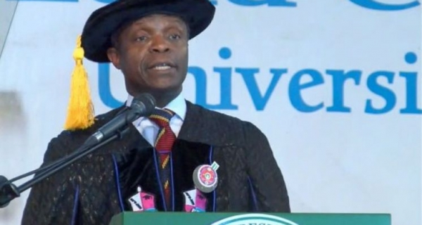 Prof. Yemi Osinbajo's speech at the 10th Convocation Ceremony